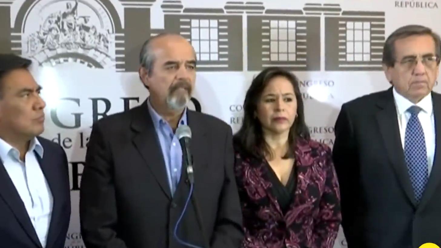 El APRA brindó una conferencia tras el rechazo de pedido de asilo de su líder Alan García.