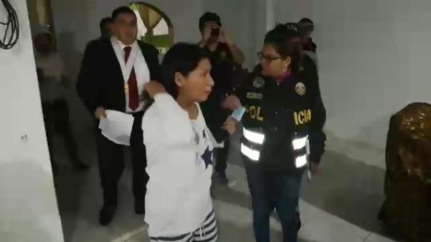 Intervención de la alcaldesa electa del distrito de Lobitos, María Chapilliquen Ruiz.