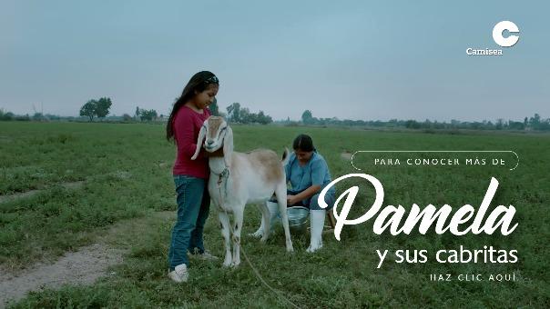 Pamela y sus cabritas: espíritu emprendedor en Pisco