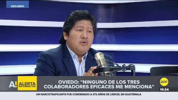 Edwin Oviedo en Encendidos.