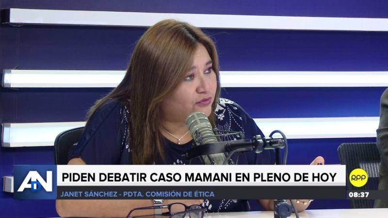 Janet Sánchez estuvo esta mañana en Ampliación de Noticias.