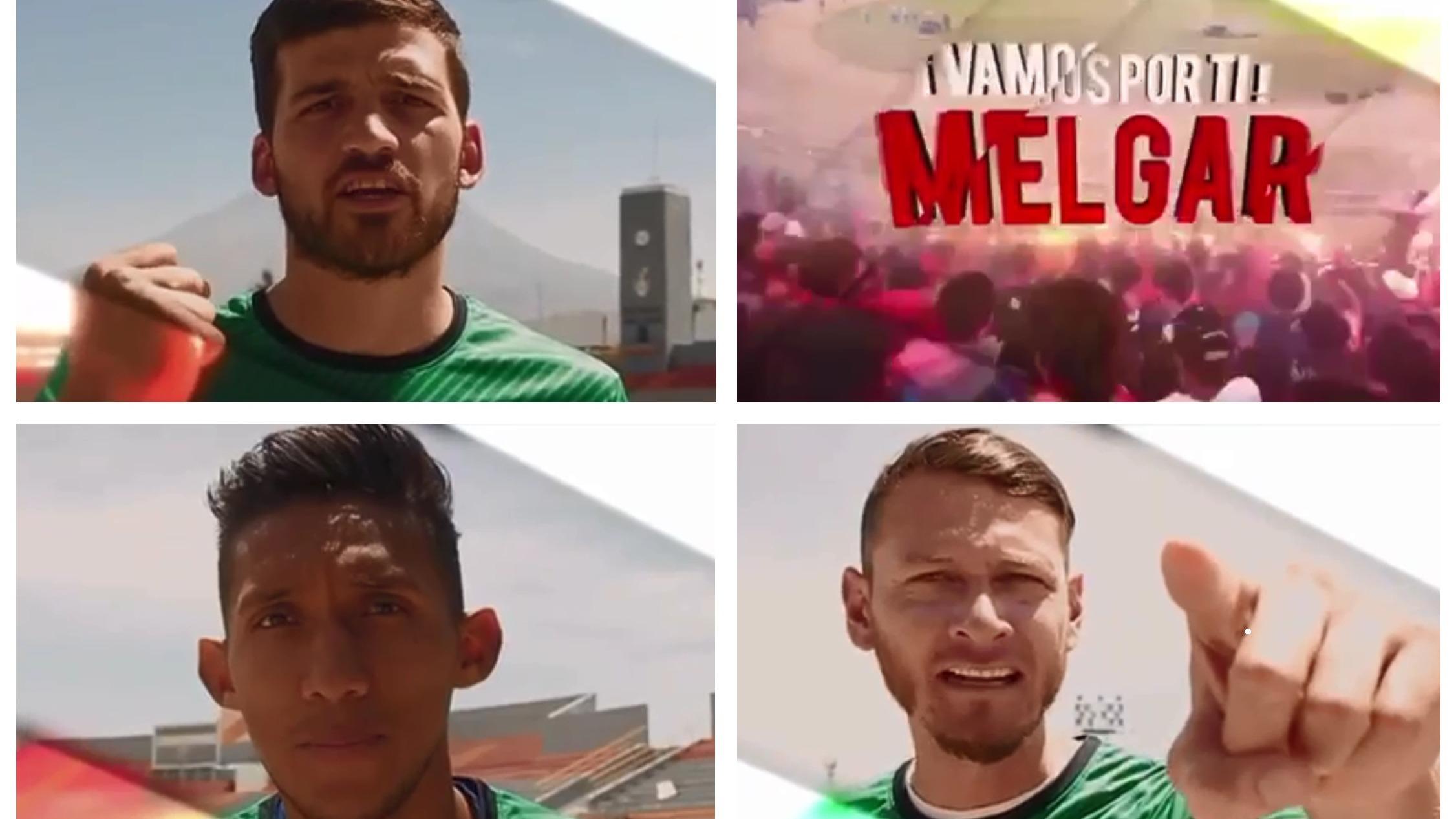 FBC Melgar realizó un video motivacional previo a la semifinal.