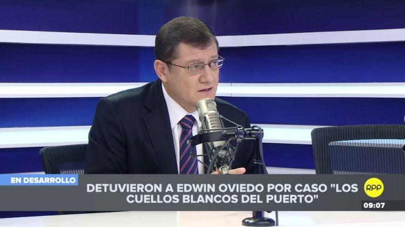 Chávez Cotrina comentó la detención de Edwin Oviedo en Ampliación de Noticias.