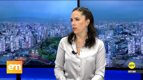 Marisa Glave, congresista del Nuevo Perú, en entrevista con RPP Noticias.