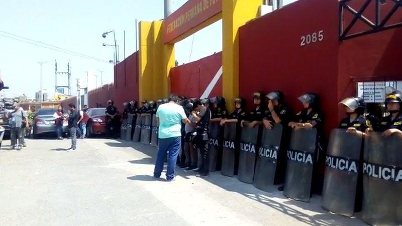 El allanamiento de la Videna se produce tras la detención de Edwin Oviedo.