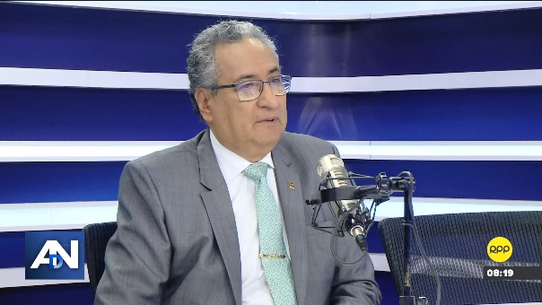 José Luis Lecaros, presidente electo del Poder Judicial.