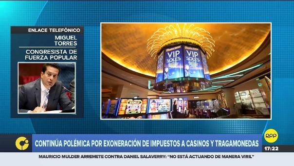 Entrevista al congresista Miguel Torres, de Fuerza Popular.