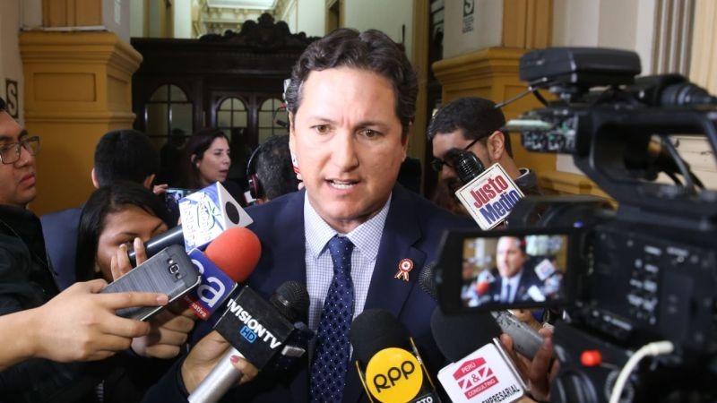 """Salaverry tildó de """"nefasta"""" ley de financiamiento ilegal y asegura que no la firmará"""