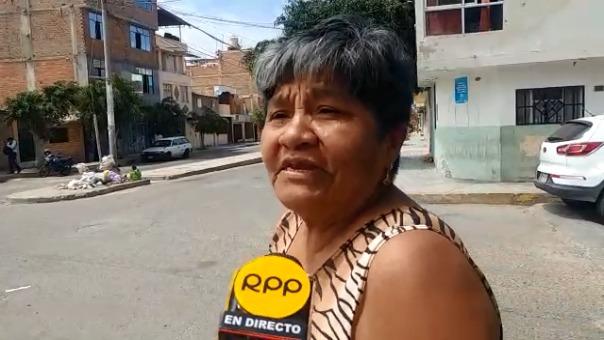 Chiclayana pide que se restablezca recojo de basura.