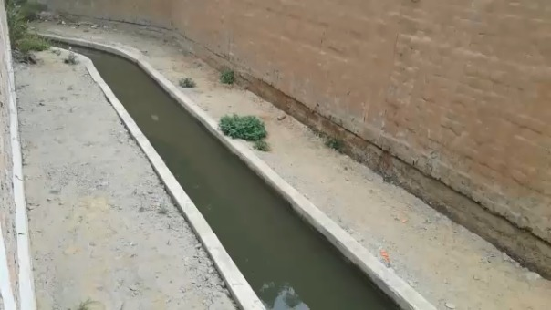 Este canal originaría las filtraciones en la infraestructura del coliseo.