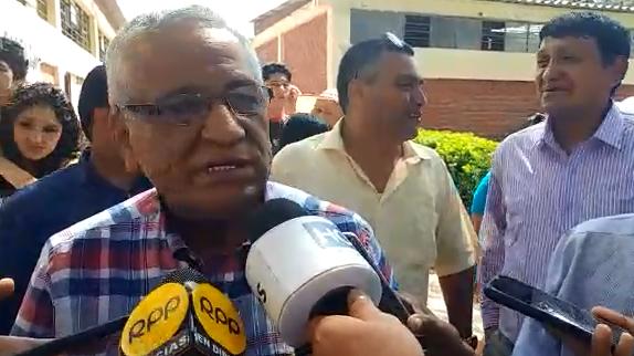 Electo Gobernador Regional de Lambayeque