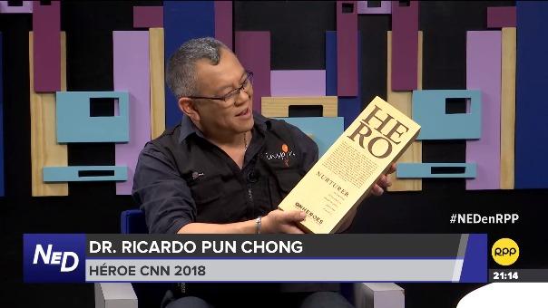 El ganador de la edición 'Héroes', concurso convocado por la cadena internacional CNN, brindó detalles de su trabajo y el premio obtenido en Nada está dicho por RPP.