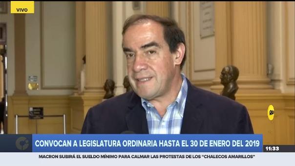Yonhy Lescano intentará postular a la Presidencia.