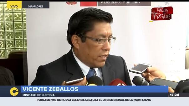 Durante evento, Vicente Zeballos criticó lo dicho por el exmandatario, lo que podría estar ocasionando una interferencia en la investigación que afronta.