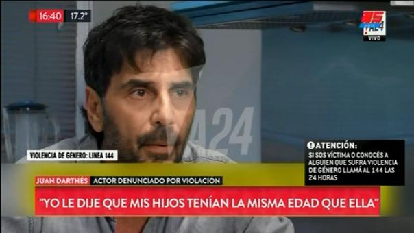El argentino asegura que fue Fardín quien se le insinuó en aquella ocasión.