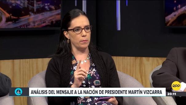 En conversación con RPP Noticias, la congresista de Nuevo Perú calificó de importantes las reformas pendientes.