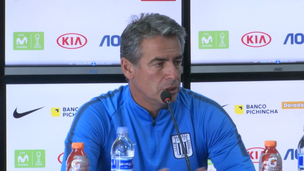 Pablo Bengoechea habló en confenencia de prensa en Matute.