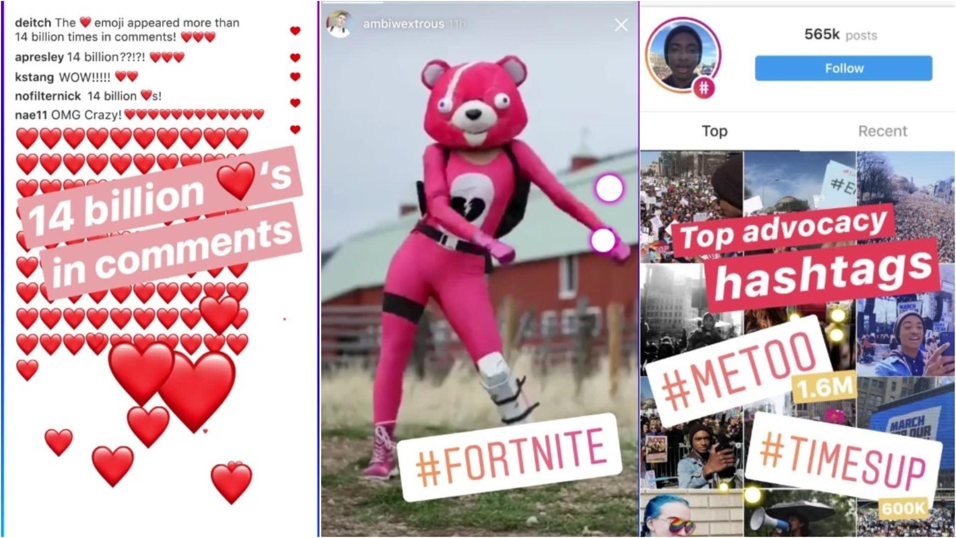 Los contenidos más populares en Instagram este 2018.