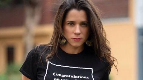 Vanessa Terkes denuncia que vienen utilizando su nombre e imagen para ofrecer trabajos y pedir 'cupos' en La Victoria.