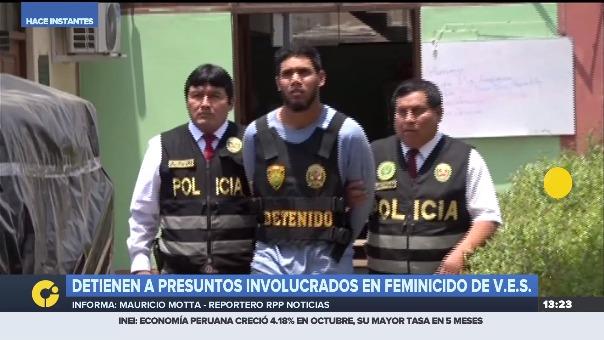 La Policía confirmó la detención de los tres presuntos implicados y señalaron su amistad con el sospechoso de cometer el crimen.