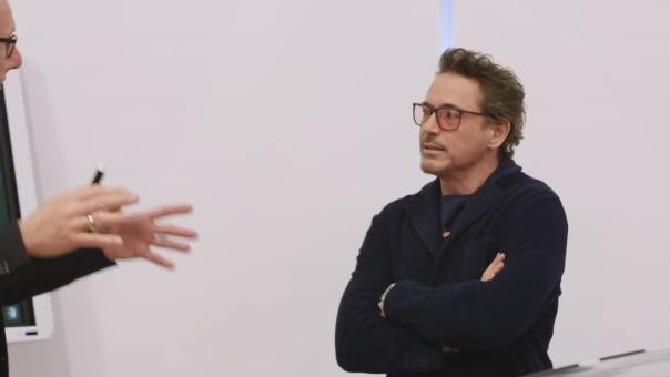 Robert Downey Jr. promociona