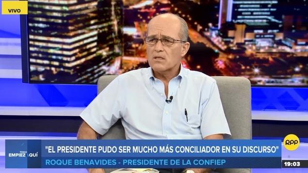 Roque Benavides es empresario minero.