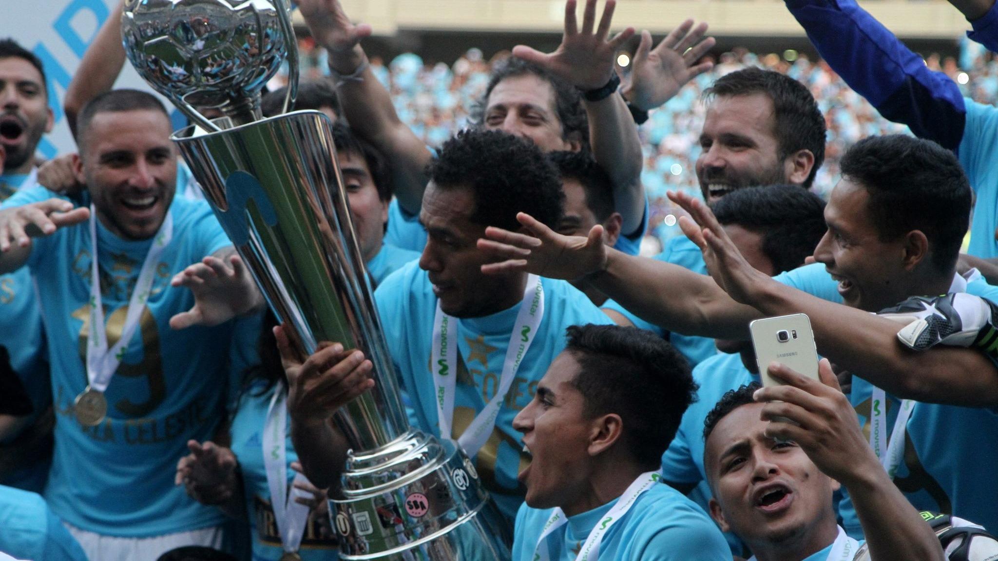 Sporting Cristal campeón del Descentralizado 2018