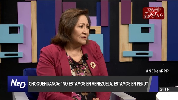 Entrevista con Ana María Choquehuanca en Nada Está Dicho.
