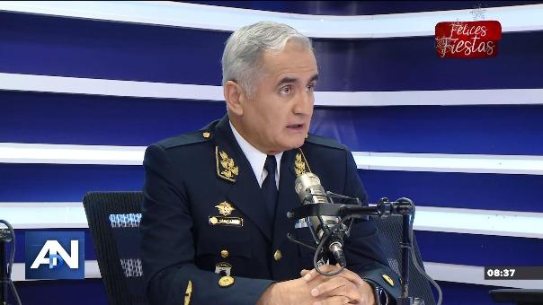 El general FAP Carlos Caballero explicó en Ampliación de Noticias el problema presentado con el satélite peruano.