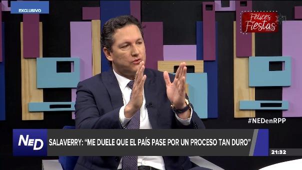 Daniel Salaverry aseguró que aún pertenece al partido Fuerza Popular.