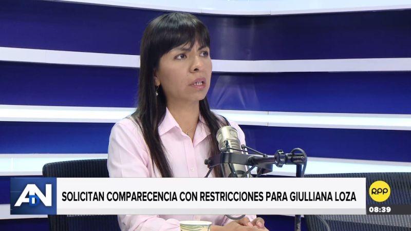 Giulliana Loza estuvo esta mañana en Ampliación de Noticias.
