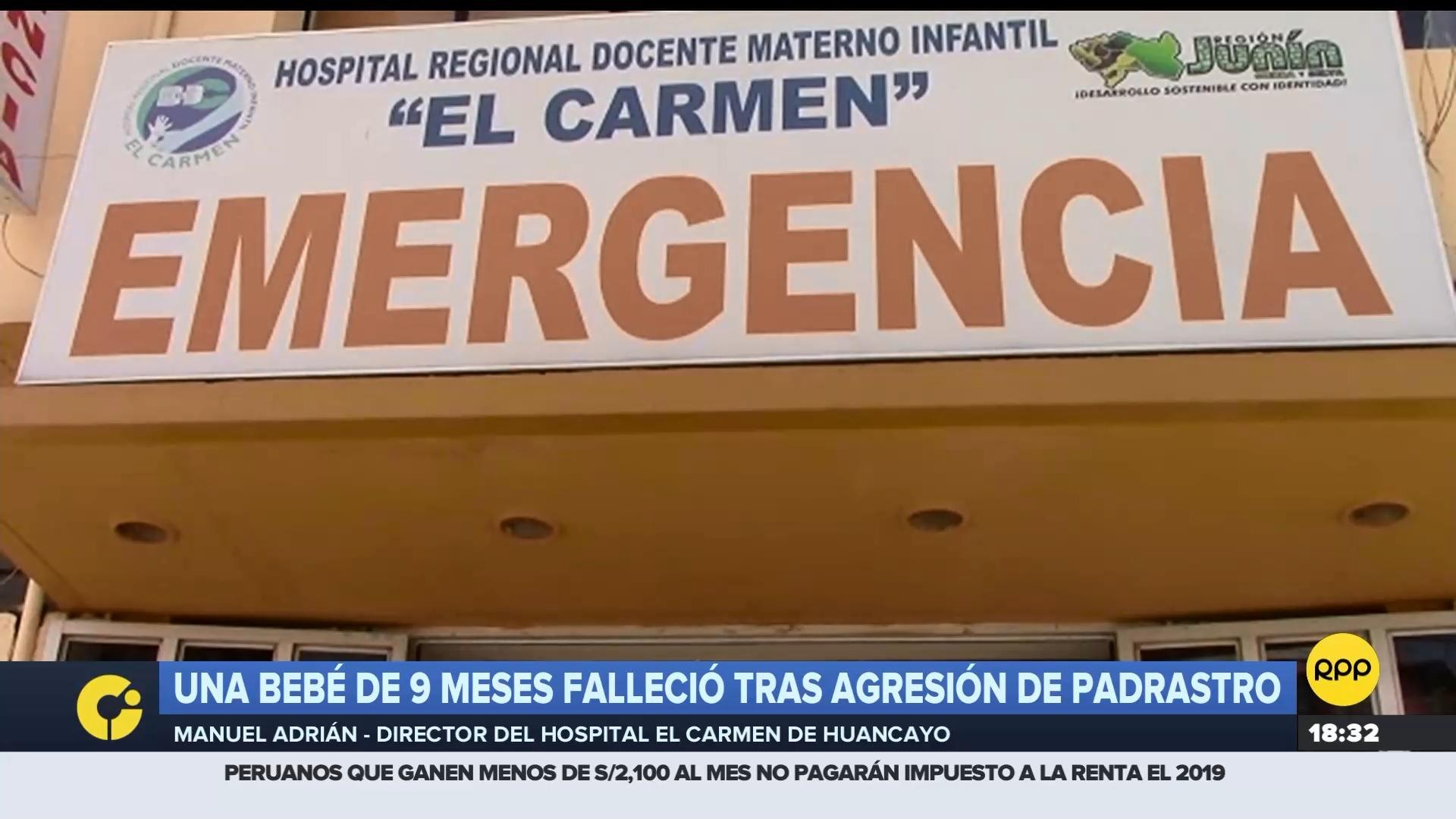 De acuerdo con el director del hospital El Carmen, la menor tenía traumatismo encéfalocraneano.