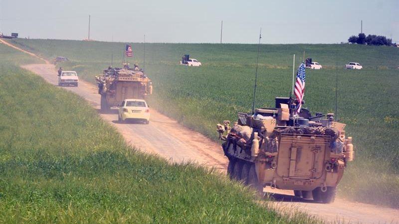 En Siria hay desplegados 2.000 militares estadounidenses.