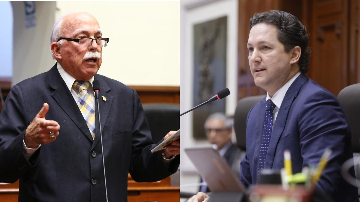 Carlos Tubino critió al presidente del Congreso, quien es miembro -con licencia- de su bancada.