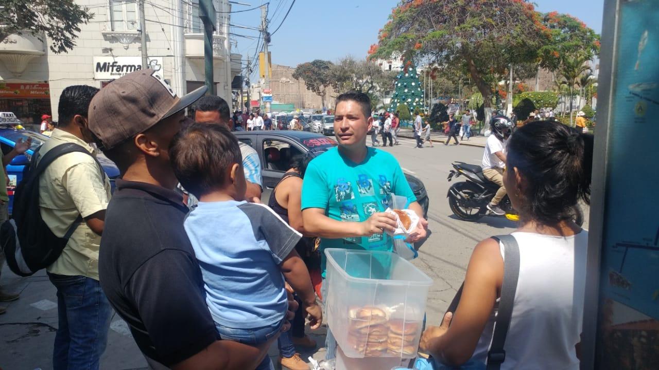 Venezolanos en Chiclayo