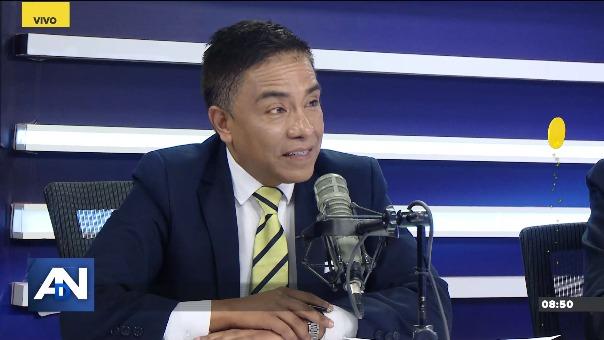 Roberto Vieira, congresista no agrupado.