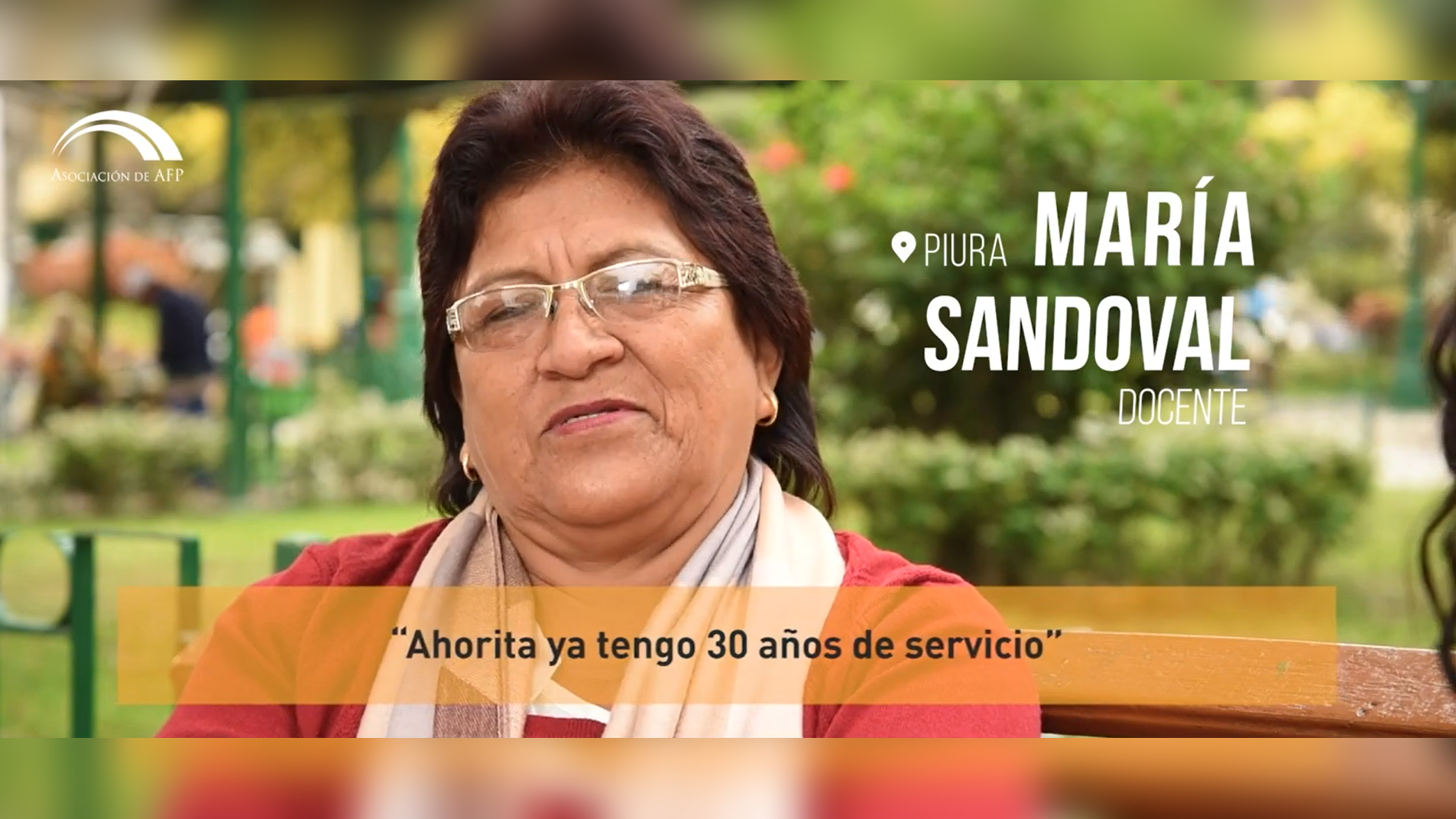María Sandoval, de Piura, se encontraba indecisa al elegir la mejor opción para ahorrar. Conoce su historia.