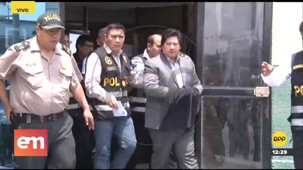 El procesado expresidente abandonó sede policial para dirigirse hacia la ciudad de Chiclayo, donde afrontará 18 meses de prisión preventiva por el caso 'Los Wachiturros de Tumán'.