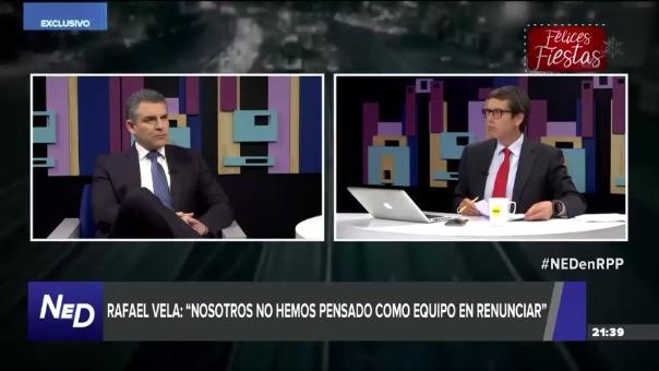 El Fiscal Rafael Vela estuvo en 'Nada está Dicho' de RPP
