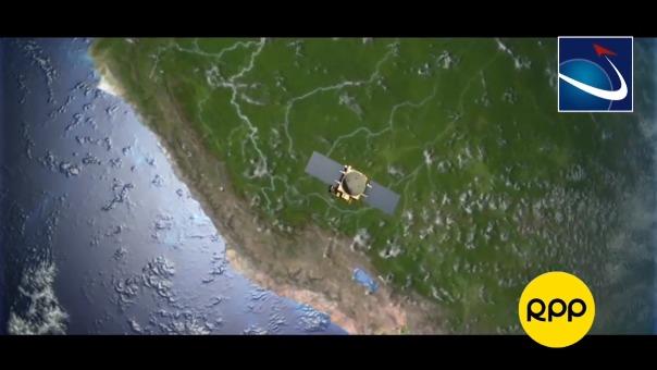 Así será el fin del satélite Perú SAT-1.