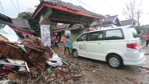 La destrucción de Indonesia tras tsunami.