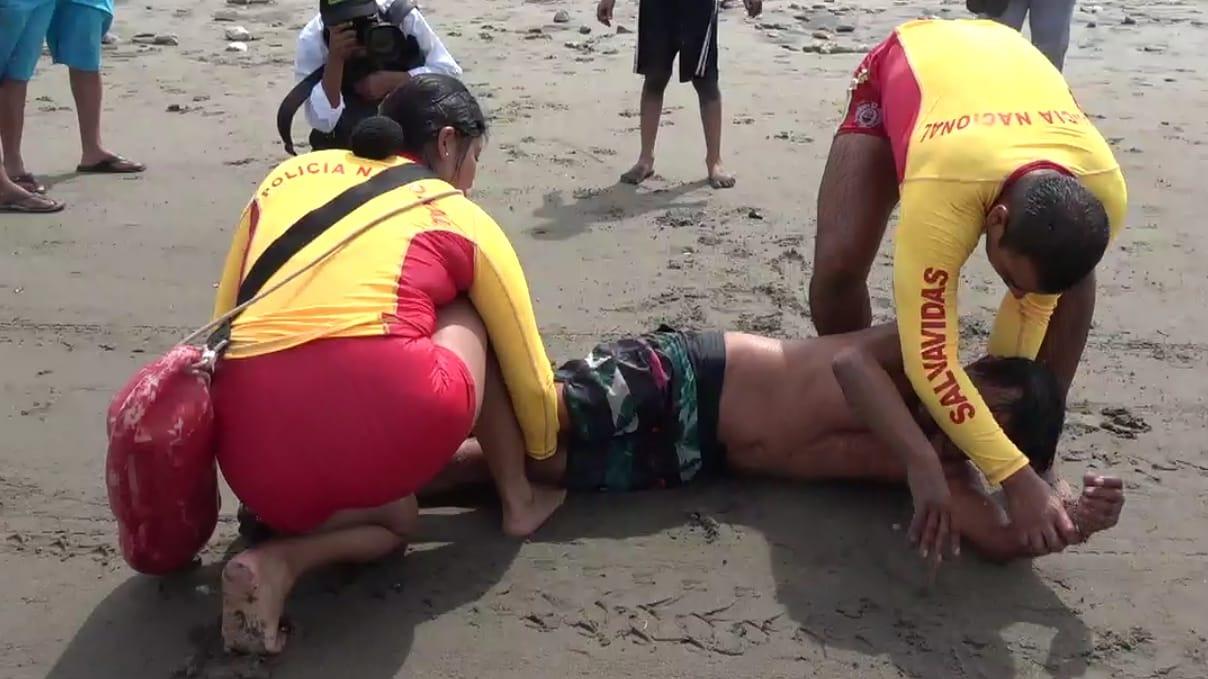 Demostración de un rescate