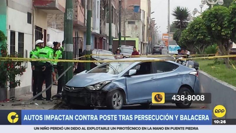 A través del Rotafono, una oyente denunció una persecución y balacera en pleno corazón de El Carmen de la Legua-Reynoso.