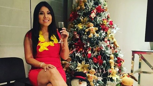Tula Rodríguez compartió un video con el regalo navideño que le dio su hija Valentina.