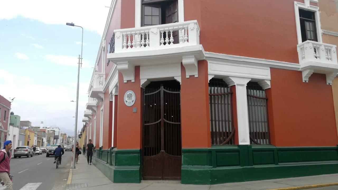 El Museo de la Marinera está ubicado en la tercera cuadra del jirón San Martín.