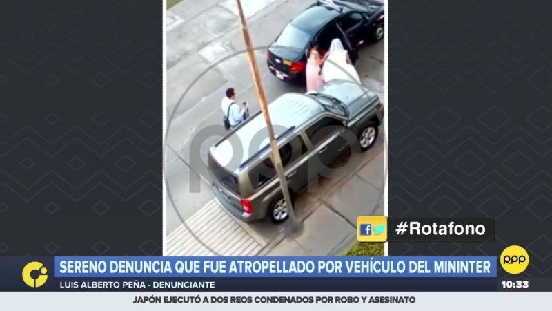 Luis Alberto Peña hizo la denuncia a través del Rotafono.