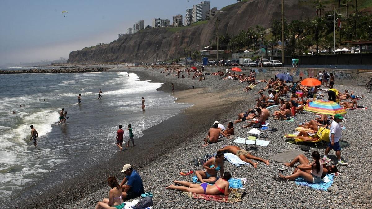 Varias playas en Lima fueron declaradas no saludables.