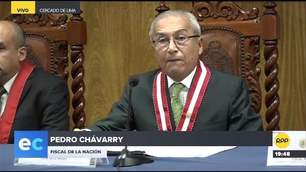 Pedro Chávarry dijo que los fiscales del caso Lava Jato cometieron