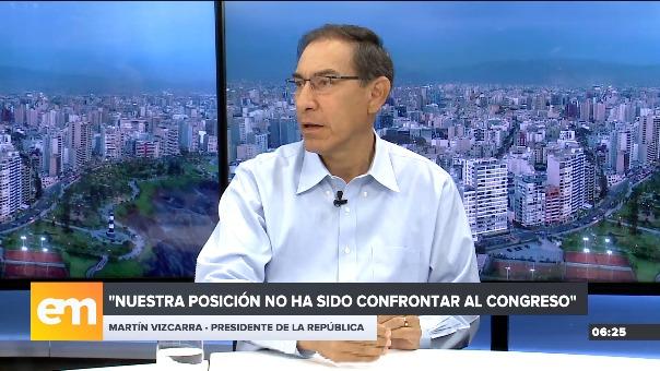 Entrevista con Martín Vizcarra en RPP.