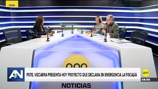 Rosa Bartra en entrevista con Ampliación de Noticias.